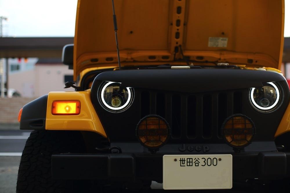 車検カスタム完了のTJとリフトアップ作業完了のエクスプローラー_f0105425_18560866.jpg