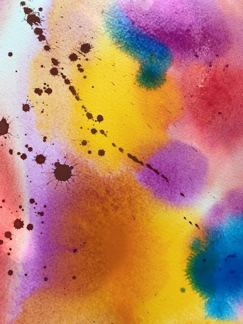 実験 Drawing and wet in wet_f0091634_21331600.jpg