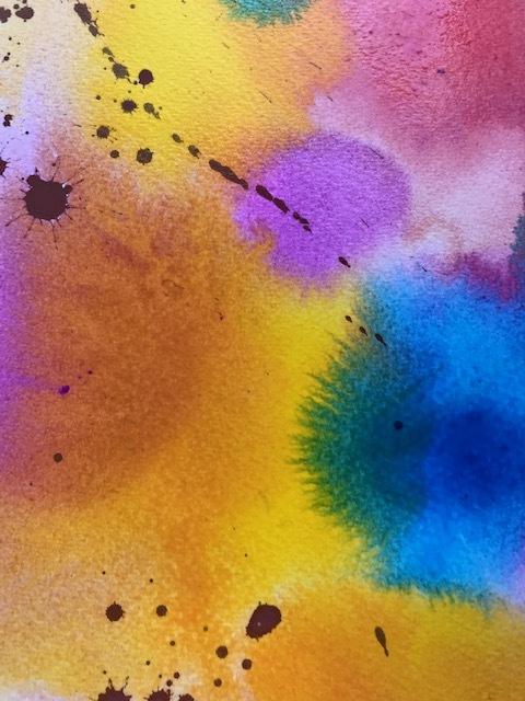 実験 Drawing and wet in wet_f0091634_21331670.jpg