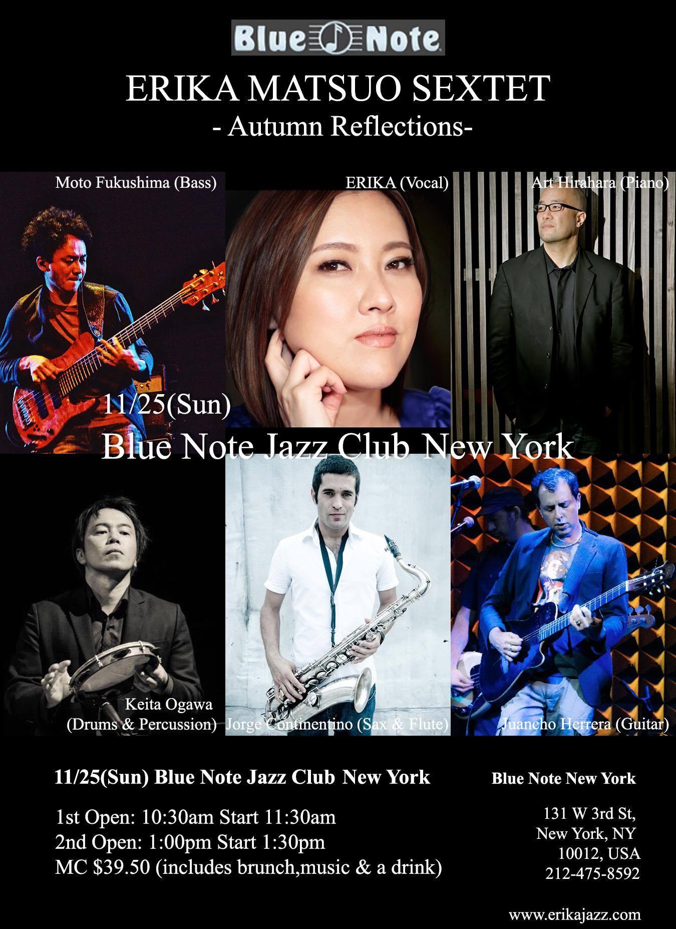 Japan Tour後 ニューヨークに無事に戻りました!今週末はいよいよBLUE NOTE NEW YORK公演です♪_a0150139_05330781.jpg