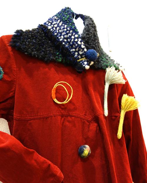 【三浦奈巳作品展〜縫って織ってできました】つけたらこんな感じ!「ネックウォーマー」&「リストウォーマー」やっぱり機能もすごかった!_a0017350_03572898.jpg
