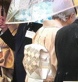 平成最後の園遊会・皇后陛下の螺鈿の帯。_f0181251_17225235.jpg