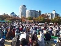 デモなしでもなんでもありの大阪総がかり集会 ―11月前半のあれやこれや①― _c0133503_11440265.jpg
