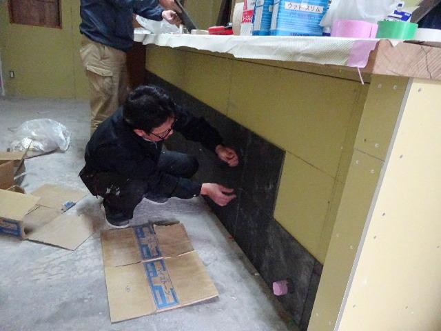 紺屋町DueMani様 店舗拡張工事 進行中。_f0105112_04263835.jpg