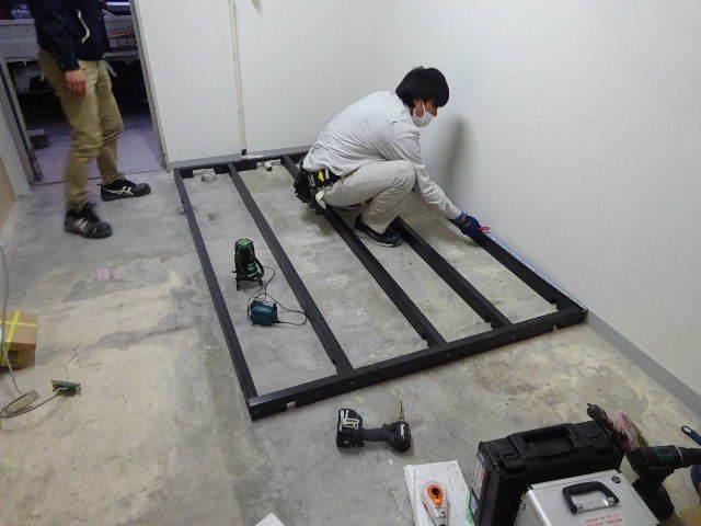 紺屋町DueMani様 店舗拡張工事 進行中。_f0105112_04370033.jpg