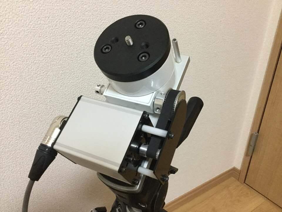 アイベルCD-1赤道儀 ベルトドライブ改造 _c0061727_11510065.jpg