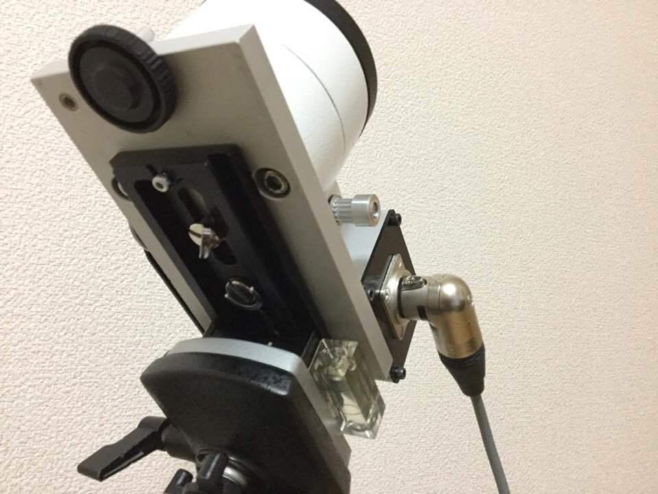 アイベルCD-1赤道儀 ベルトドライブ改造 _c0061727_11510107.jpg