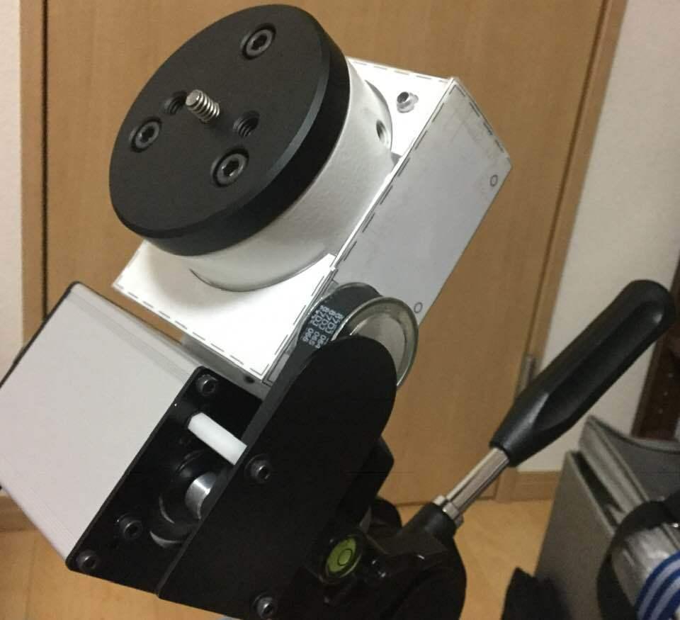 アイベルCD-1赤道儀 ベルトドライブ改造 _c0061727_11510159.jpg