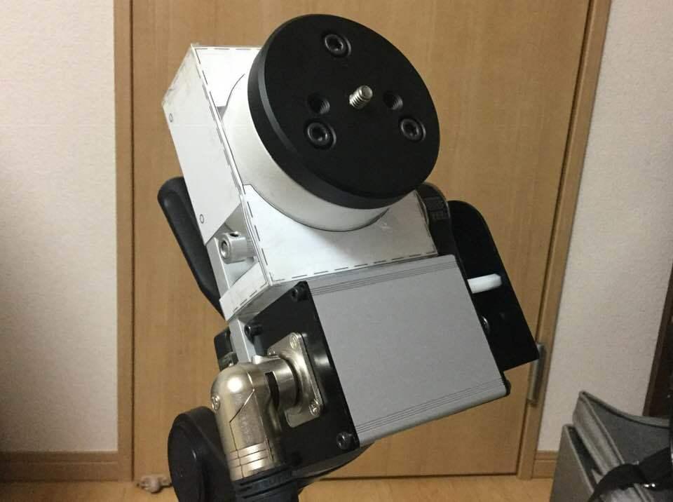 アイベルCD-1赤道儀 ベルトドライブ改造 _c0061727_11510186.jpg