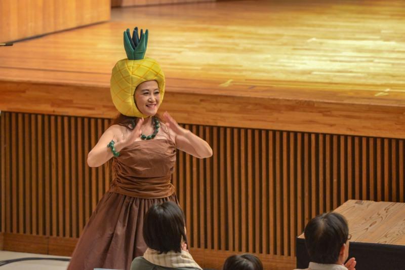 たっきーフラスタジオ発表会 2018 ⑰ Pineappil Princess_d0246136_22524637.jpg