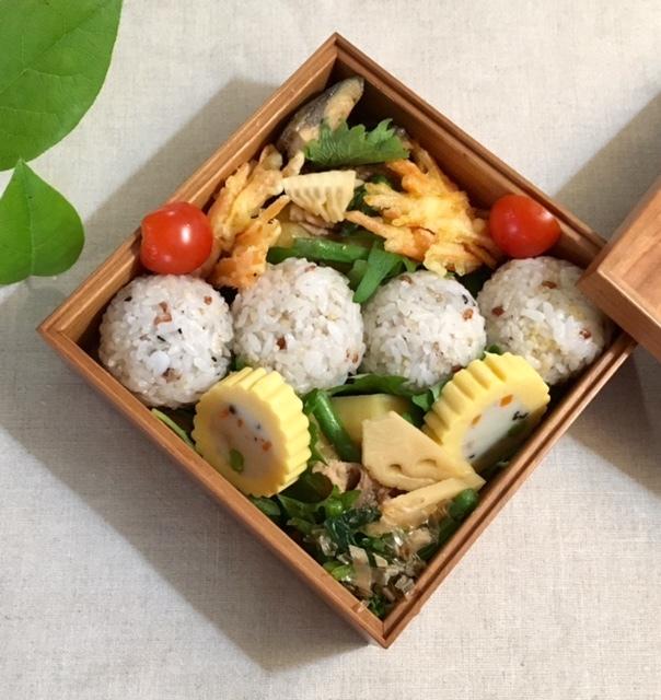 lunch box  母に箱根旅のおみやげを詰めて_a0165160_11452787.jpg