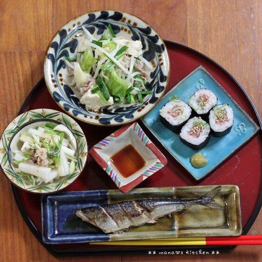 椎茸つくね丼 ✿ 初サンマ(〃)´艸`)オイシー♪_c0139375_11263912.jpg
