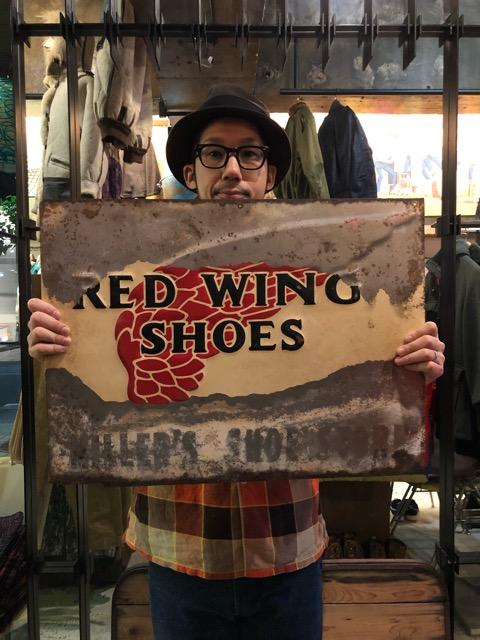 11月24日(土)大阪店スーペリア入荷!!#6 Work編!!RED WING StoreTinSign&Boots!!(マグネッツ大阪アメ村店)_c0078587_2341833.jpg