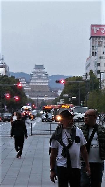 藤田八束の鉄道写真@播但線と姫路城、姫路駅を通過するかっこいい貨物列車は桃太郎・・・世界遺産姫路城と鉄道_d0181492_21430170.jpg