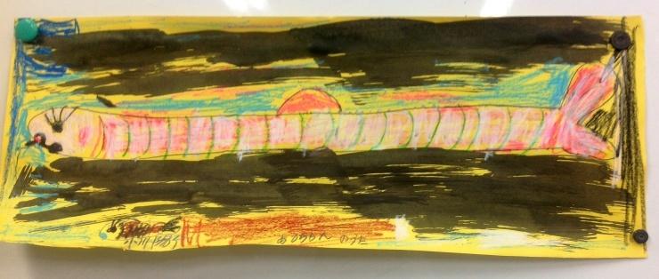 秋刀魚を描く_c0100195_21184321.jpg