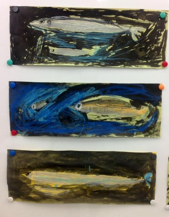 秋刀魚を描く_c0100195_21202248.jpg