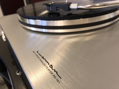 LUXMAN新製品アナログプレーヤー「PD-151」展示導入致しました!_c0113001_14534175.jpeg