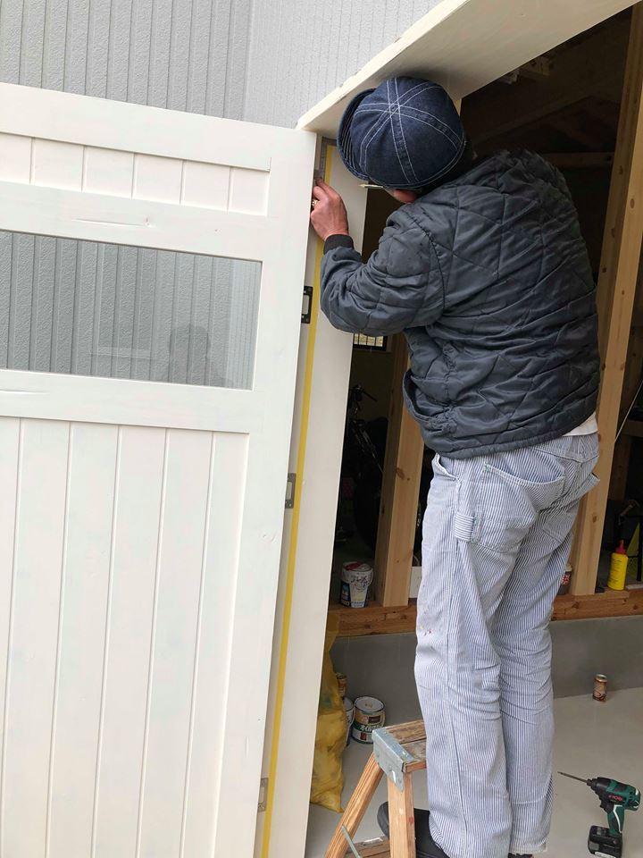 ◆ Garage door ◆_c0078202_15542082.jpg