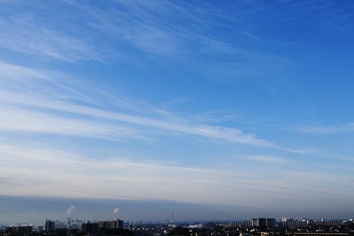 飛行機雲ーⅠ_b0268615_8385440.jpg