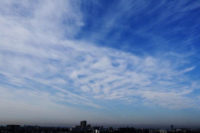 飛行機雲ーⅡ_b0268615_8444744.jpg