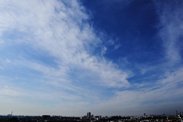 飛行機雲ーⅡ_b0268615_8473990.jpg