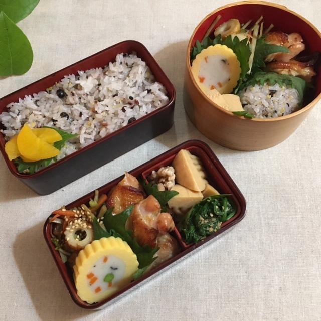 lunch box  いい夫婦の日_a0165160_16432757.jpg