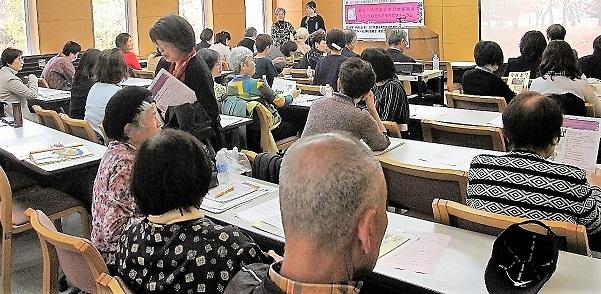 男女均等議会は政策のゆがみをなくす(京都フォーラム)_c0166264_14522994.jpg