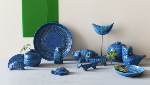 巨匠 アルド・ロンディが手掛けた陶器コレクション・Rimini blu。_b0125570_10463501.jpg