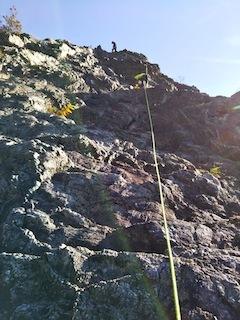 高木山探検とクライミング_c0359615_19423543.jpg