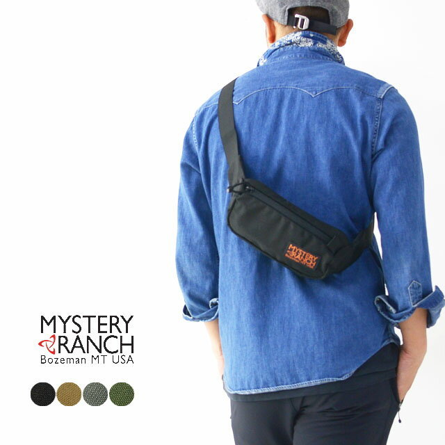 MYSTERY RANCH[ミステリーランチ] FORAGER HIPSACK [19761246] フォーリッジャーヒップサック・ウエストバッグ MEN\'S/LADY\'S_f0051306_16041478.jpg