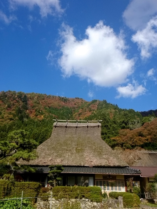 幸せ京都旅 「美山 かやぶきの里」 古き良き日本の原風景_c0362623_15252380.jpg