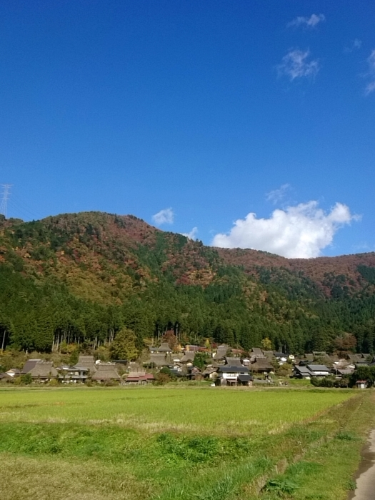 幸せ京都旅 「美山 かやぶきの里」 古き良き日本の原風景_c0362623_15252618.jpg