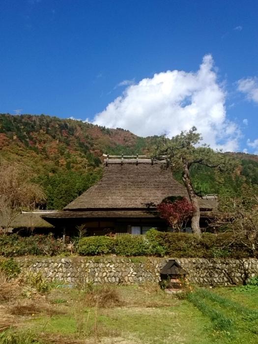 幸せ京都旅 「美山 かやぶきの里」 古き良き日本の原風景_c0362623_15252661.jpg