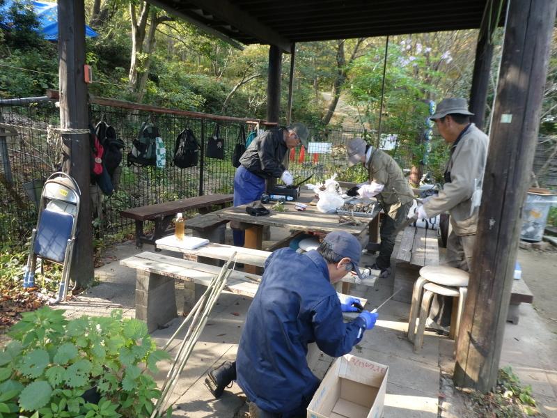 木のツリー試作・イベント準備・・・うみべの森_c0108460_19260417.jpg