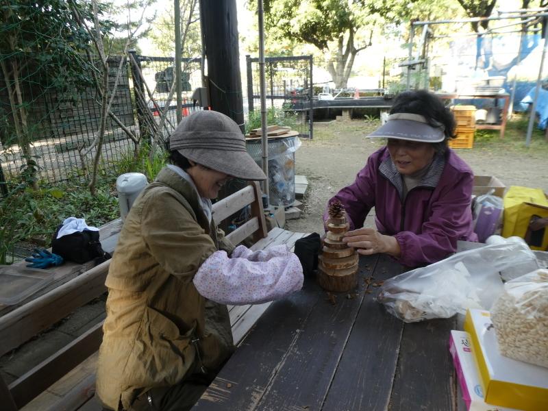 木のツリー試作・イベント準備・・・うみべの森_c0108460_19272681.jpg