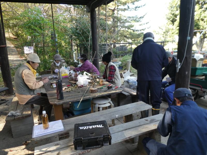 木のツリー試作・イベント準備・・・うみべの森_c0108460_19295479.jpg