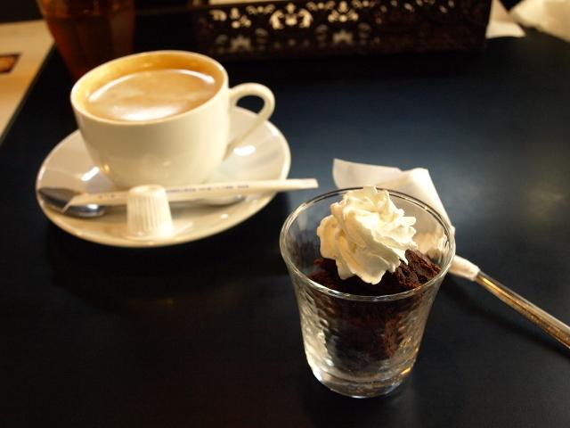 ル・ブーランジェ オゾ(OZO Cafe) その3(エビとトマトクリームのパスタ)_d0153062_20294292.jpg