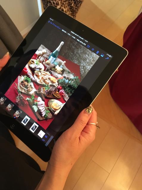 そごう神戸店様  クリスマス特集 盛りつけ&撮影スタイリング @サンケイリビング新聞社_f0375763_16081208.jpg