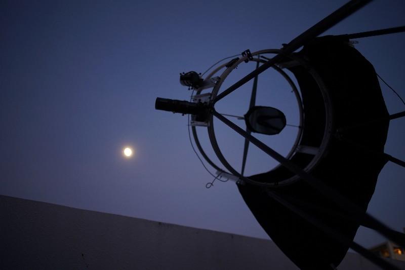 60CMドブソニアン自作記(198) 斜鏡を交換して月を撮る_a0095470_14084887.jpg