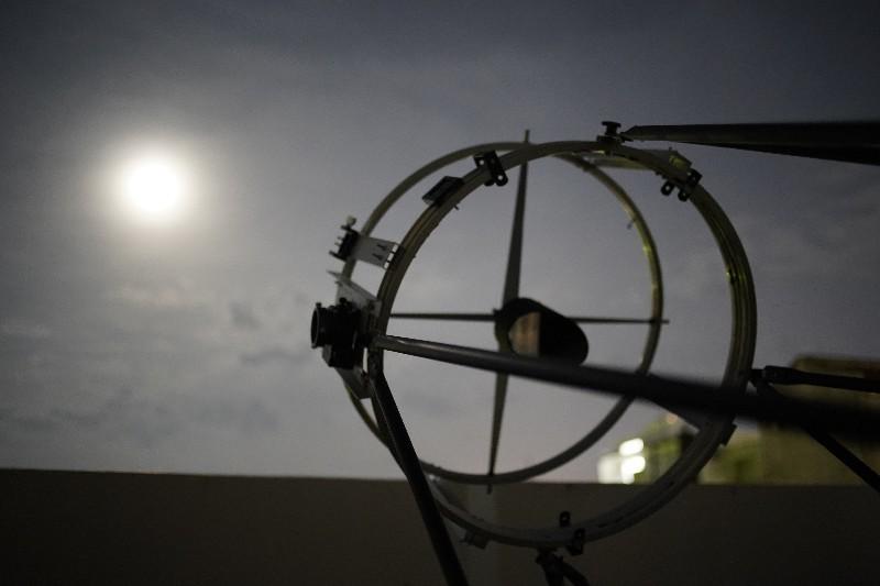 60CMドブソニアン自作記(198) 斜鏡を交換して月を撮る_a0095470_14085707.jpg
