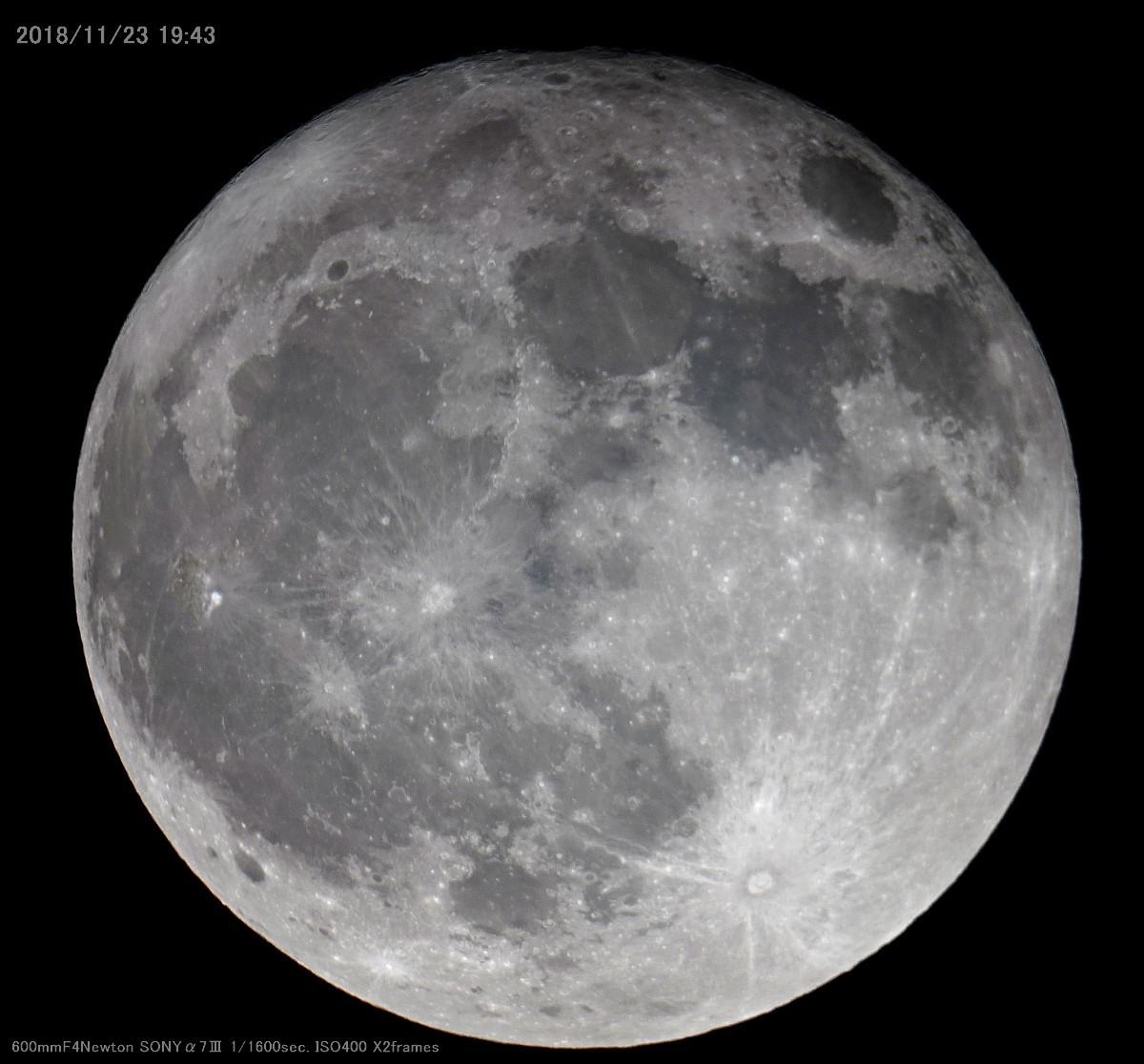 60CMドブソニアン自作記(198) 斜鏡を交換して月を撮る_a0095470_14090799.jpg