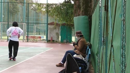 「モンマステニスたんちゃんきたよ。」_a0075684_1018212.jpg