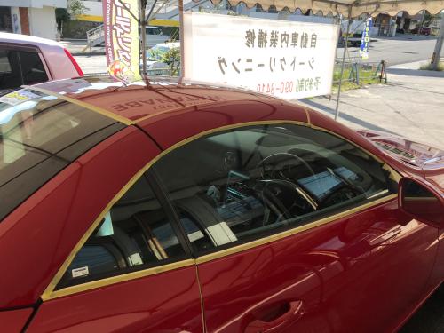 真っ赤なメルセデス【マニキュアコート】SLK200_d0351087_08591199.jpg