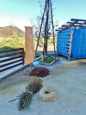兼業農家の連休最終日はヤッパリ冬準備な一日でした_c0336902_19093269.jpg