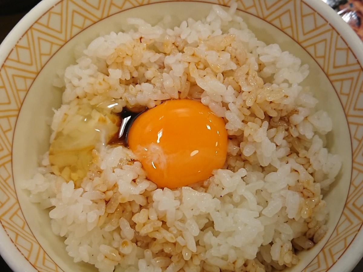 11/26  カレーとん汁たまかけ朝食 ¥380 @すき家_b0042308_07074663.jpg