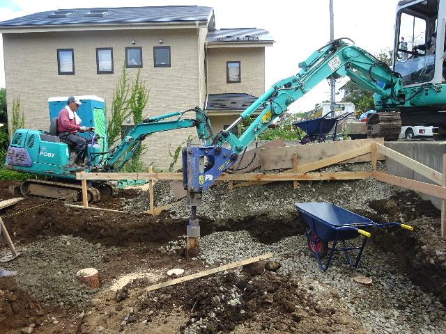 紅葉が丘の家 工事進行中です。_f0105112_04050361.jpg