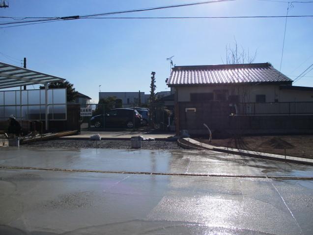 栃木県足利市エクステリア工事途中経過!_e0361918_11074190.jpg