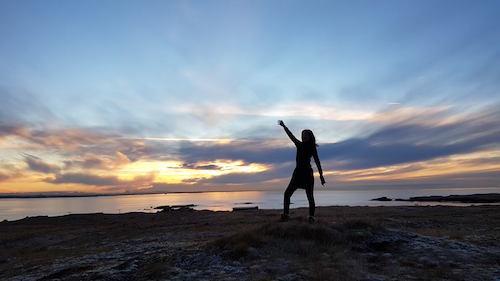 アイスランド、陽は昇るけど登り切らない冬の日の荒涼_c0003620_05013808.jpg