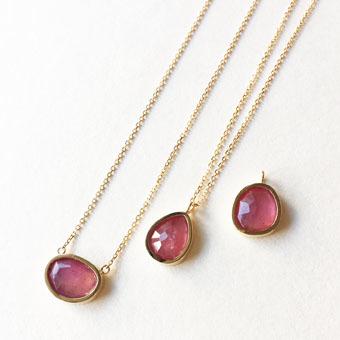新作 素敵なピンクサファイアのネックレス&ネックレストップ_b0278339_17144063.jpg