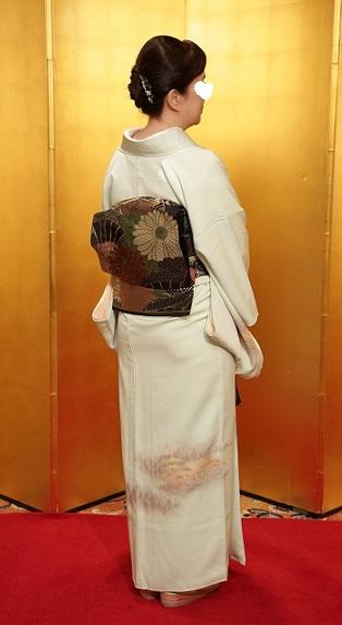 10周年・結婚の時にお義母さまが作って下さった着物。_f0181251_1531197.jpg